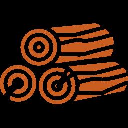 troncos-de-lena-apilada